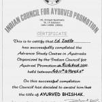 Ay Bhishak certif