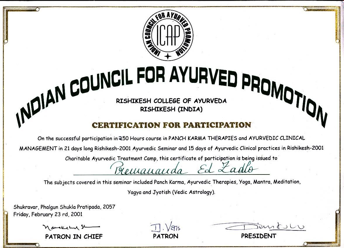 Ed zadlo day about ay bhishak certif neiam certificate ay bhishak certif 2 xflitez Choice Image